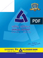 Allahabad Bank Annual Report 2014 15
