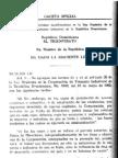 Ley No. 434 de 1964