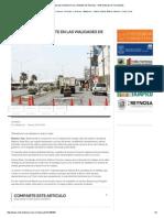 07-09-2015 Trabajo Permanente en Las Vialidades de Reynosa