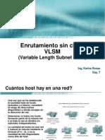 Cap7 VLSM