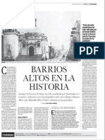 Barrios Altos en la Historia