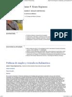 ESPINOSA Jaime F. Erazo_Políticas de Empleo y Vivienda en Sudamérica