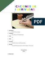 aplicaciones de derivadas ^_^