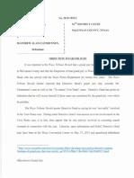 Grand Jury Objection
