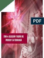 Selección de proceso de producción industrial