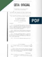 Ley No. 1 de 1963