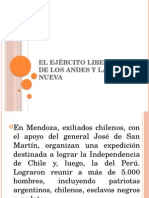 El Ejército Libertador de Los Andes y La