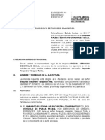 Medida Cautelar - Proceso Ejecutivo-fazesa