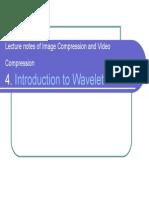 Wavelet Intro 2005