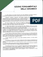 01- Eq. Fondamentali Della Dinamica
