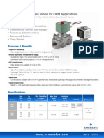 8040 Series Gas Valves Features Benefits