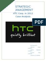 Case analysis of HTC