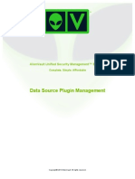 AlienVault Data Source Plugin Management