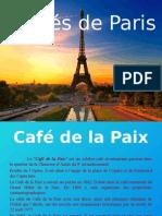 Cafenele celebre din Paris