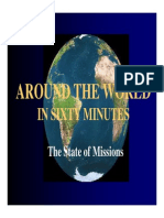 2008 Lectureship Around the World in 60 Minutes