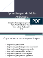 Aprendizagem Do Adulto