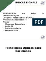 Redes Ópticas e GMPLS
