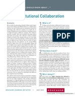 7 Things You Should Know About Cross-Institutional Collaboration (271164879)