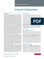 7 Things You Should Know About Cross-Institutional Collaboration (271164881)