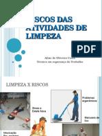 Ergonomia nas atividades de limpeza.ppt
