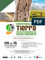 Primera Convocatoria Conferencia de La Tierra 2015