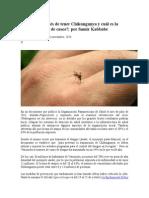 Qué Pasa Después de Tener Chikungunya y Cuál Es La Verdadera Cifra de Casos