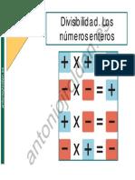 Divisibilidad. los numeros enteros.pdf
