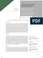 Analisis Bibliometrico Educacion Ambiental
