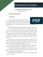 Ruben Dapkevicius - El Poder Disciplinario en Uruguay