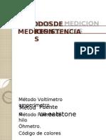 Metodos de Medicion Resistencias