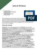 Lista de Comandos Do Windows 1420 Ndgact