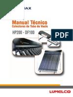 manual tecnico Df100 Hp200