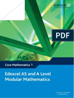 Edexcel C1 Core Mathematics Textbook