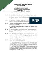 Bases Campeonato Sub 17 2015