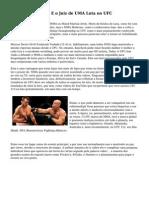 Como A Pontuacao E o Juiz de UMA Luta no UFC