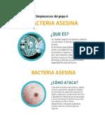 Bacteria Asesina Streptococcus del grupo A.docx