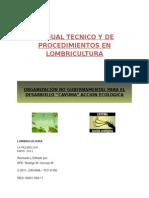 Manual Tecnico y de Procedimientos en Lombricultura Final[1]