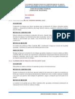 4.- Especificaciones Técnicas Capilla