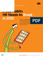 5 Bad Habits HR Needs to Break in 2015 SAP