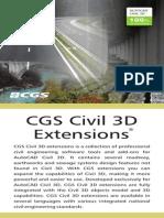 CGS Civil 3D Extensions 2008 ANG