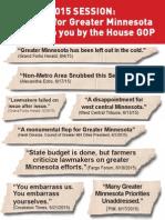 Greater Minnesota Deserves Better in 2016
