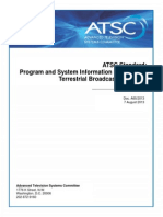 Program System Information Protocol for Terrestrial Broadcast and Cable