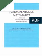 Fundamentos de Matematica Unidad 2