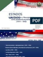 Historia Económica - Estados Unidos - Tercera Exposición