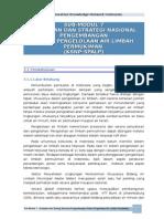 Sub-modul 7 Kebijakan Dan Strategi Sanitasi Nasional