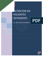 Soporte Nutricio en pacinetes Quemados