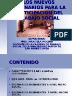 El Trabajo Social en La Nueva Coyuntura Potosi