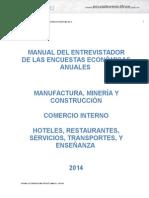 Manual Del Entrevistador 2014 (2)