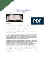 Lectura bíblica terapeútica