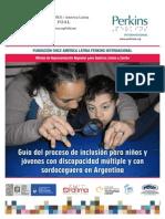 Guía del Proceso de Inclusión para niños y jóvenes con Discapacidad Múltiple y con Sordoceguera en Argentina
